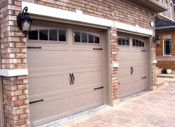 Raised Panel Overhead Door