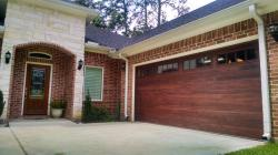 double sided steel insulated commercial garage doors