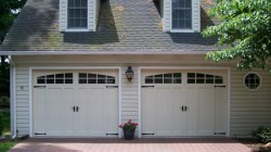 carriage house overlay garage doors
