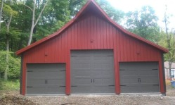 insulated carriage house door
