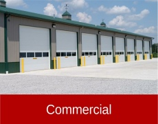commercial garage doors in council bluffs, ia