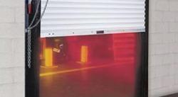 rolling fire rated door